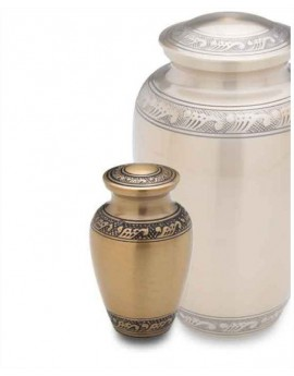 Keepsake Urn - Infinity Gold
